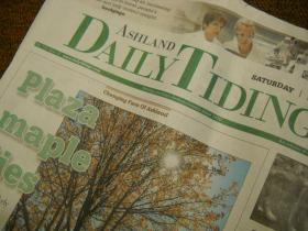 Say goodbye to the broadsheet; tabloid is coming to the Daily Tidings.