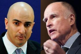 Neel Kashkari and CA Governor Jerry Brown square off Sept 4th at 7pm