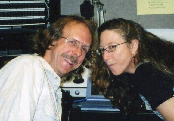 Former Open Air Host Eric Alan and Folk Show Host Keri Green.