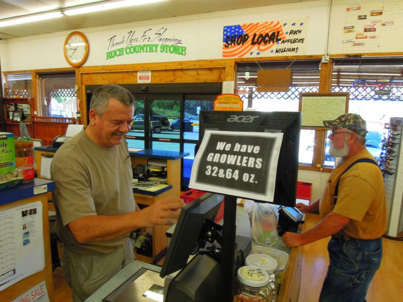 """Craig and Amber Hamm welcome the diversity of customers that their store attracts with its eclectic range of products. """"You can't know everything. You only have two eyes. You need to get other perspectives,"""" says Craig."""