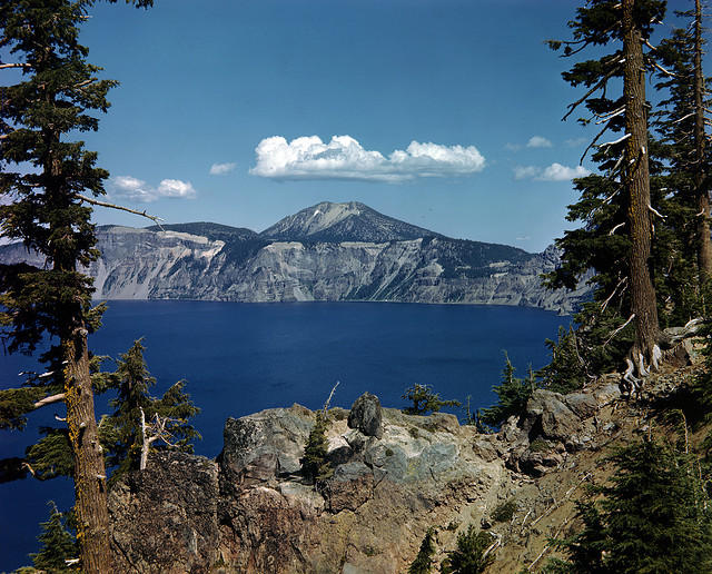 Crater Lake in full summer glory.