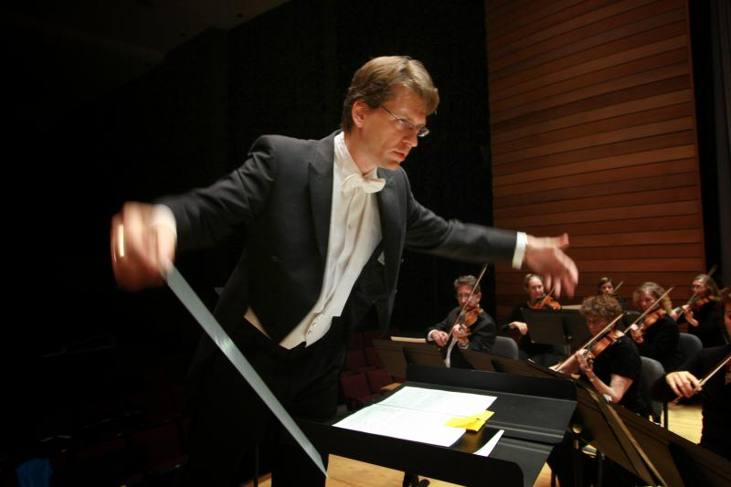 A native of Bratislava, Slovakia, Martin Majkut was hired as conductor of the RVS orchestra in 2010.