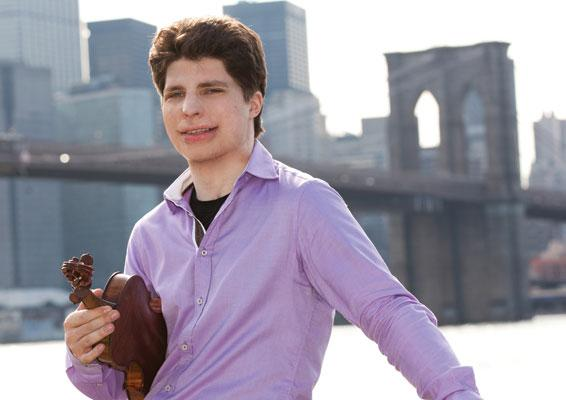 Violinist Augustin Hadelich performs Sibelius's Violin Concerto on August 9th