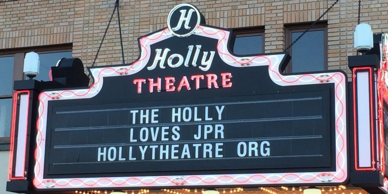 The Holly Theatre Restoration Project roots for a successful conclusion of the Spring Fund Drive.