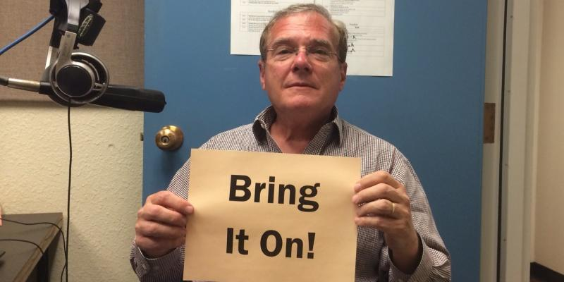 "Peter Sage says ""Bring It On"" on New Member Friday."
