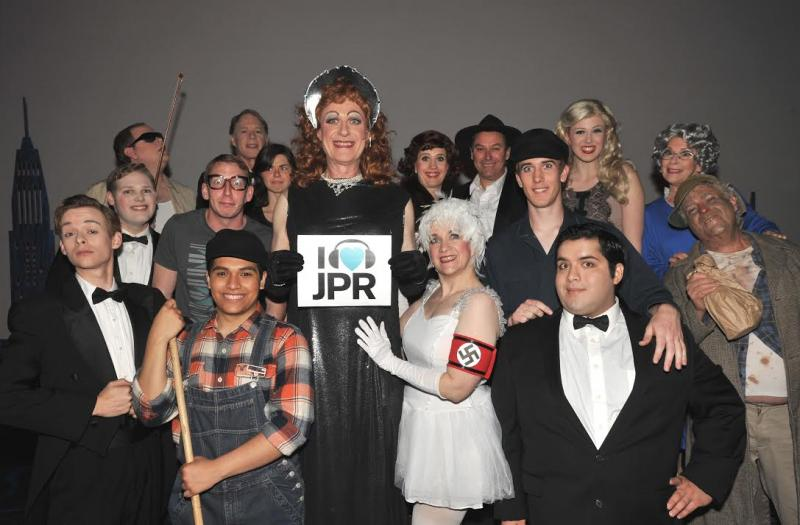 Where's Don?  JPR's very own Don Matthews and the cast of Camelot Theatre's The Producers urge listeners to support JPR. Hint: Don's got the biggest smile and is impeccably dresssed for the Saturday Opera.