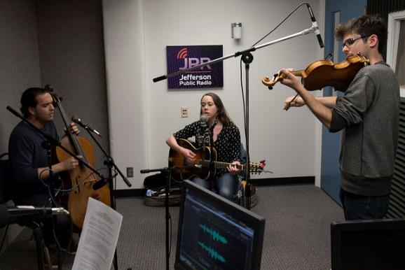Sarah Jarosz and her working trio