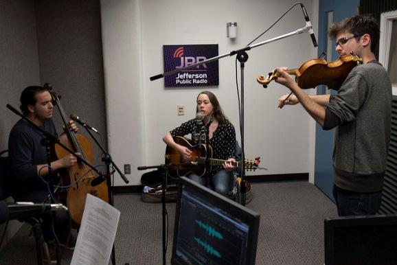 Sarah Jarosz and her working trio
