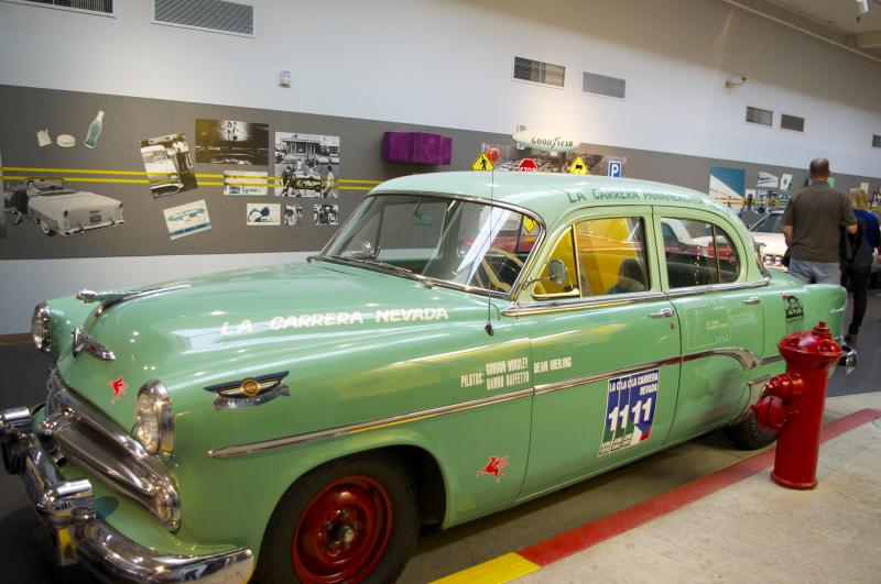 Reno's National Automobile Museum offers free guided tours of their collection of over 200 vintage vehicles.