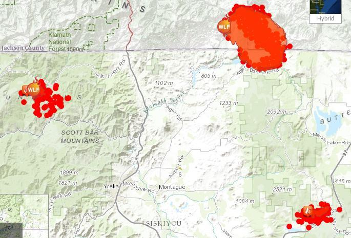 10000 Acres A Day Oregon Gulch Fire Marches On Jefferson