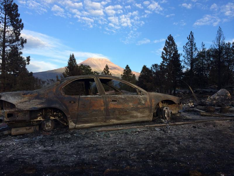 The Boles fire that swept through the Siskiyou County town of Weed on September 15 left a swath of devastation through this community of 3,000 that sits in the shadow of Mount Shasta.
