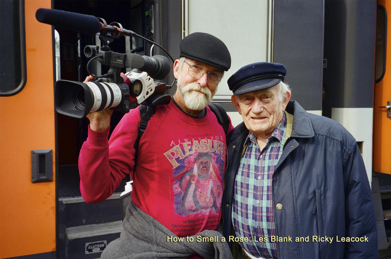 Les Blank and Ricky Leacock from How to Smell a Rose: A Visit with Ricky Leacock in Normandy.