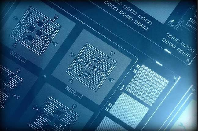 IBM's novel and complex quantum bit circuit, based on a square lattice of four superconducting qubits on a chip roughly one-quarter-inch square, enables both types of quantum errors to be detected at the same time.
