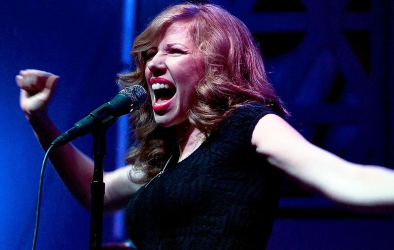 Lead singer Rachael Price of Lake Street Dive.