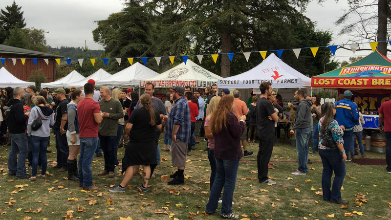 Hoptoberfest, Blue Lake, CA