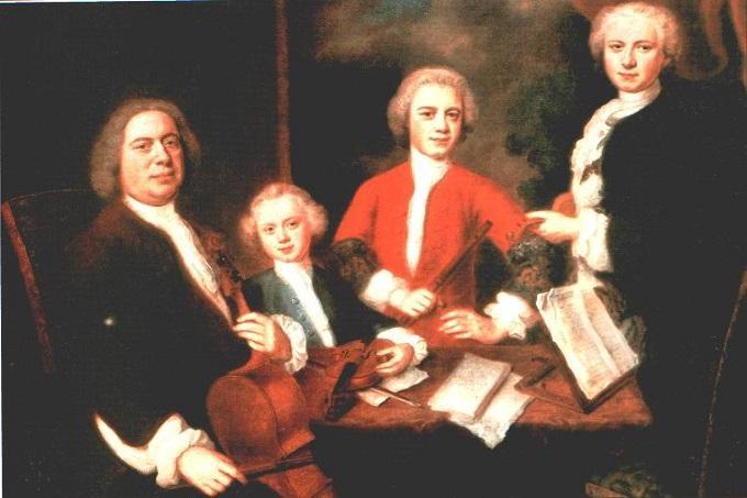 Johann Sebastian Bach and Sons