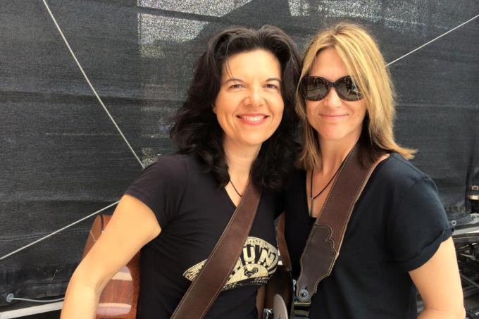 Maia Sharp and Linda Taylor