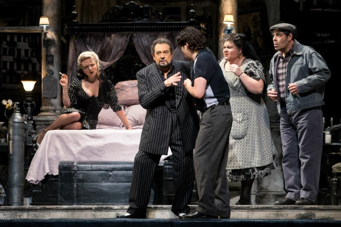 Placido Domingo in Puccini's Gianni Schicci