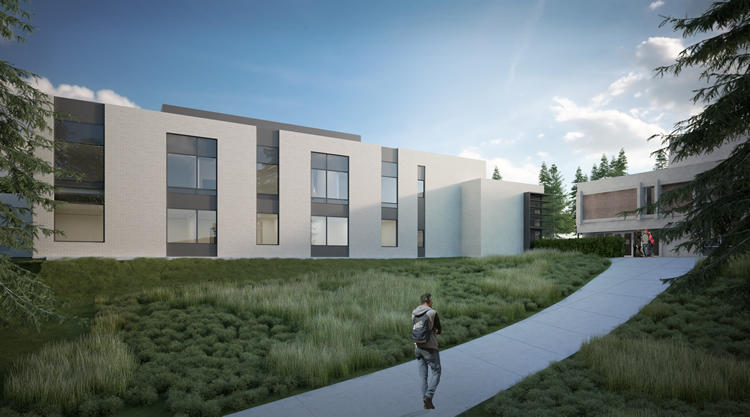 New facility rendering: North elevation (JPR Studio)