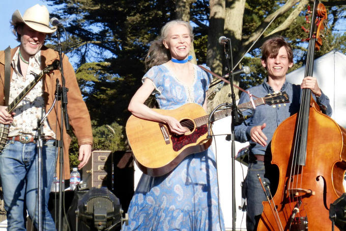 Dave Rawlings Machine at Hardly Strictly Bluegrass. Thanks to Sausalito listener Kathleen Andreson for the great shot!