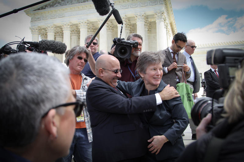 11.	The Freedom to Marry—Evan Wolfson and Mary Bonauto on the Supreme Court Steps
