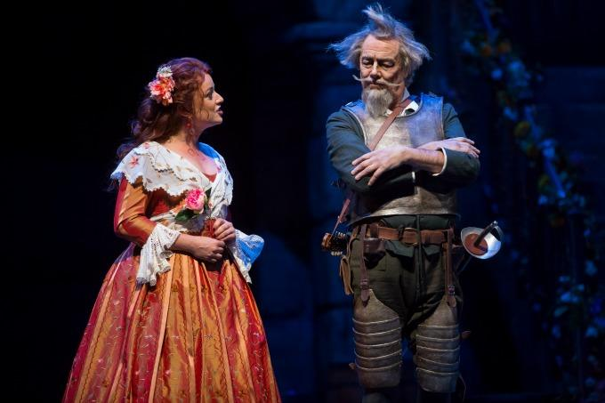 Clementine Margaine and Ferruccio Furlanetto in Don Quichotte