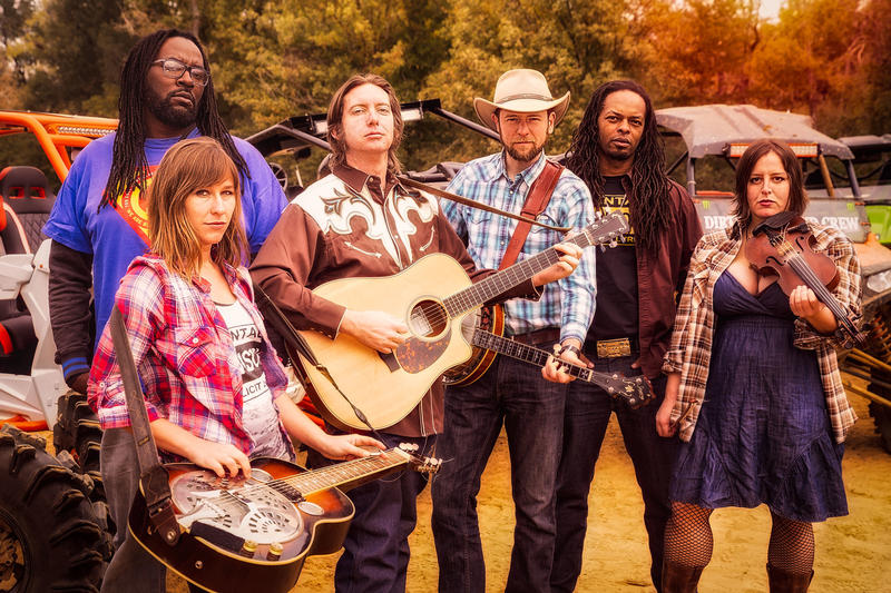 Gangstagrass combines hip-hop and bluegrass in a show at The Sound Lounge in Grants Pass, September 7.