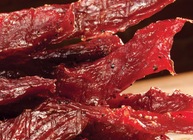 Jerky is a mainstay of Gary West Meats.