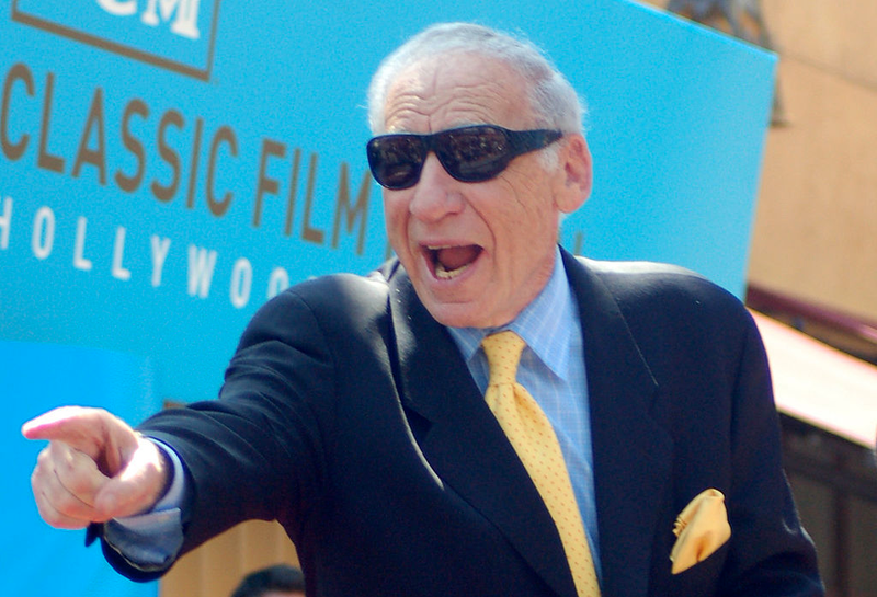 Mel Brooks gets a star on the Hollywood Walk of Fame.
