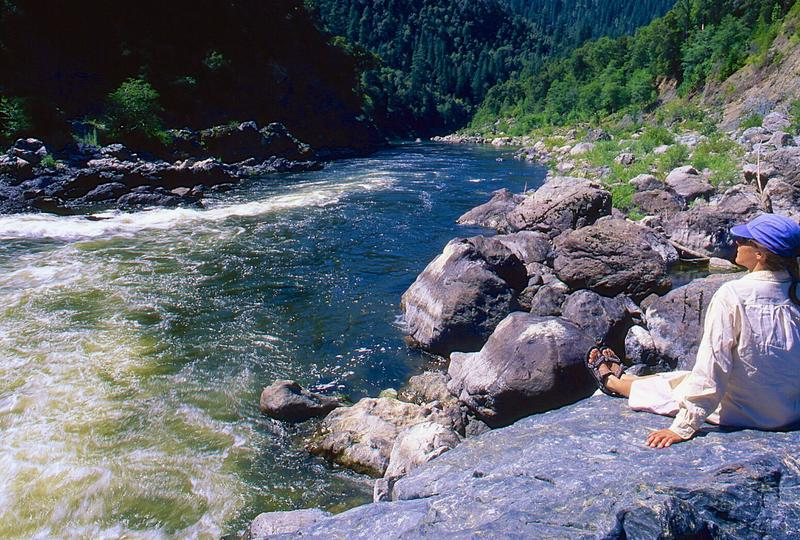 Klamath River, above Ukonom Creek, California