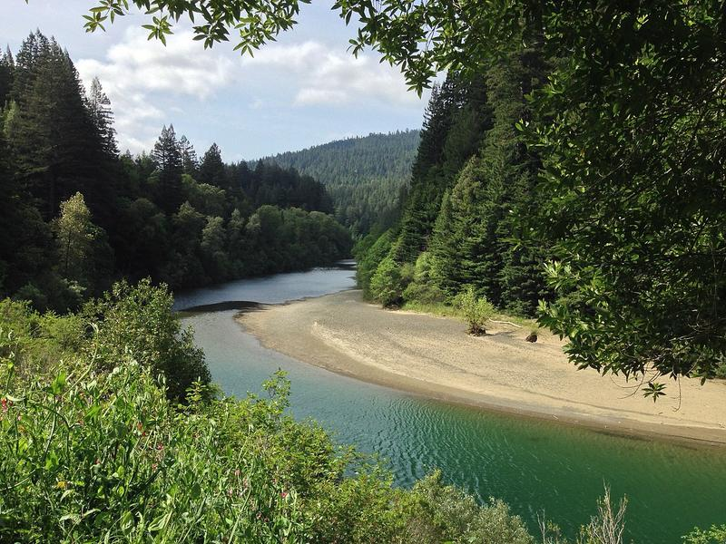 South Fork of the Eel River.