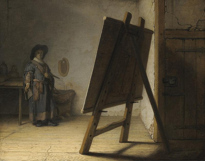 "Rembrandt's ""The Artist in his Studio"""