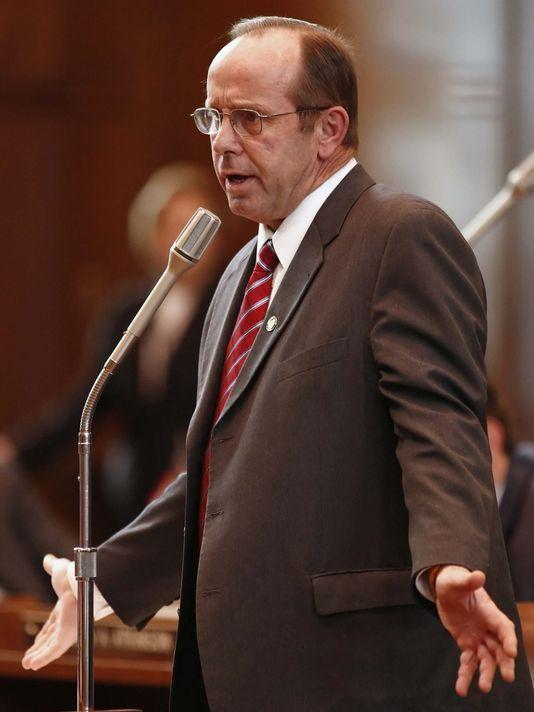 Sen. Jeff Kruse, R-Roseburg, during the 2015 Legislative session.