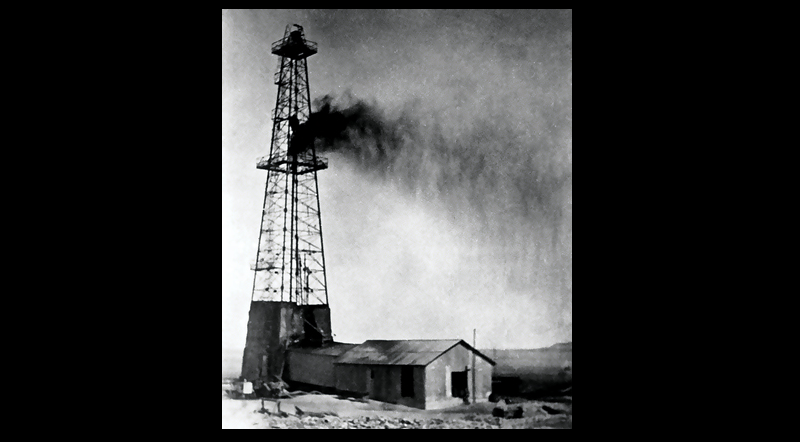 The first producing Saudi oil well, in 1938.