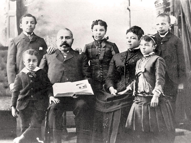 The Waldo-Bogle family were early African-American residents of Oregon.