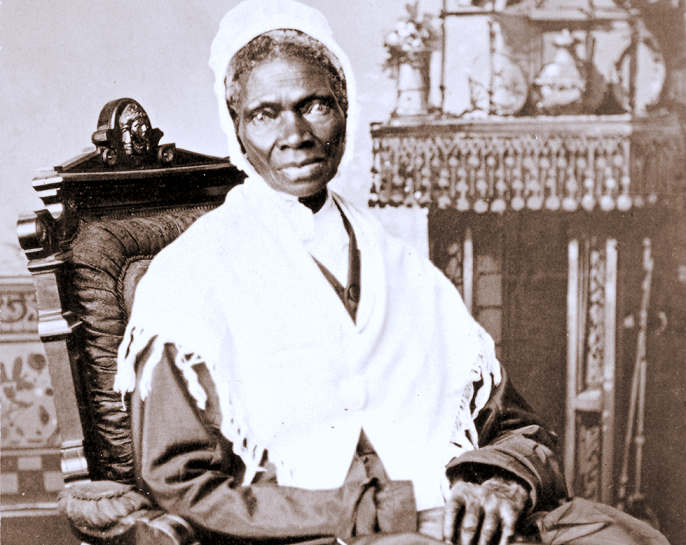Sojourner Truth, one of the women profiled in the book.