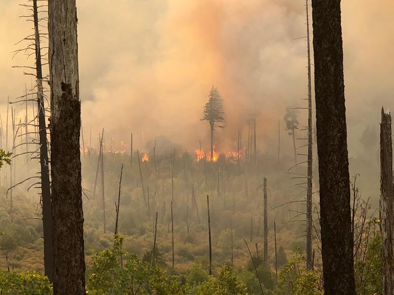 Klondike Fire on July 27.