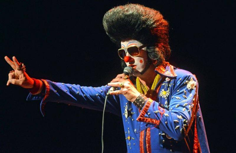 Clownvis Presley plays Johnny B's in Medford, September 20.