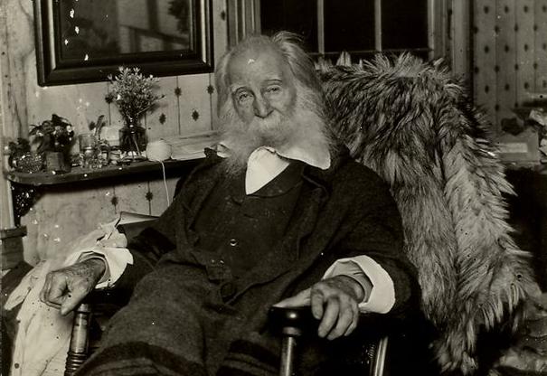 Walt Whitman himself, in 1891.