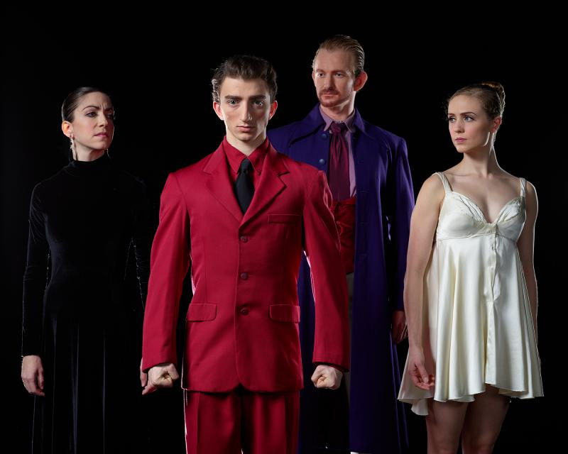 "Eugene Ballet presents ""Hamlet,"" October 6-7."