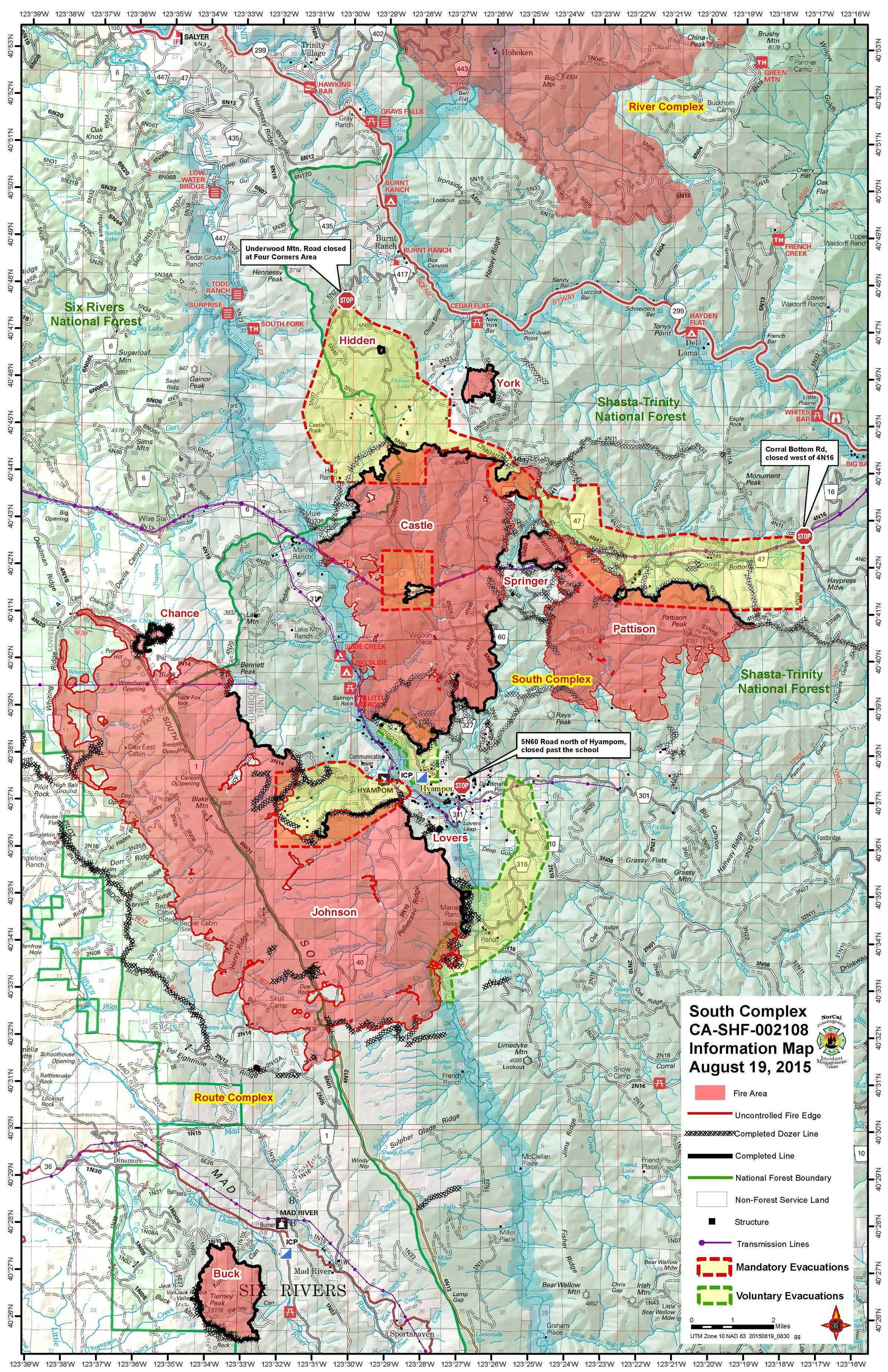Nearly 180 000 acres burned in trinity county jefferson public radio