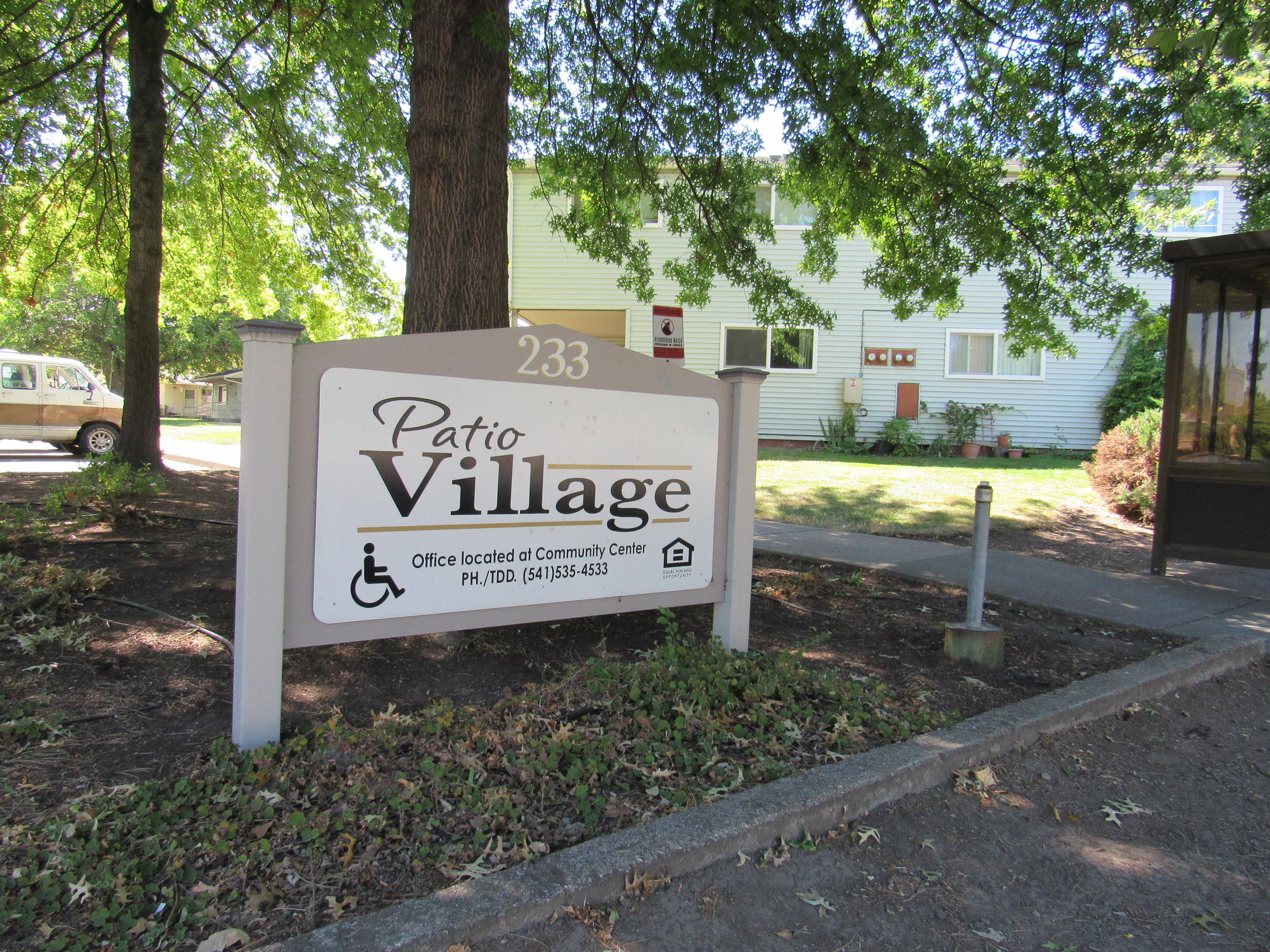 Patio Village Is A 64 Unit Subsidized Apartment Complex Run By The Housing  Authority Of Jackson County And Located In Downtown Talent, Oregon.