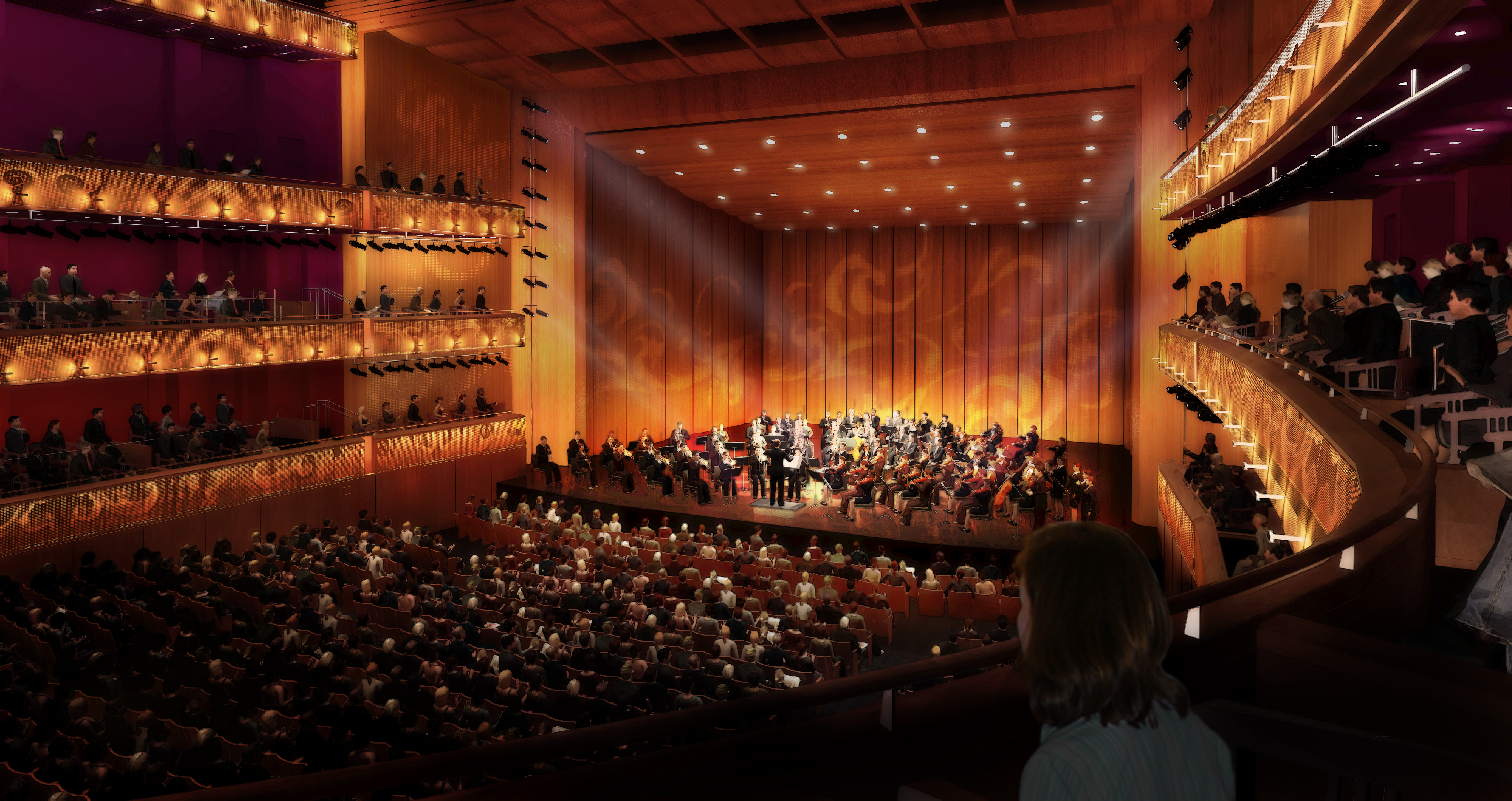 Tobin Center Preview Performing Arts Building Two Years