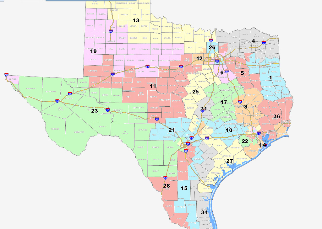 Austin Democrat Talks Crossover Districts In Redistricting Debate - Us house district 13 map