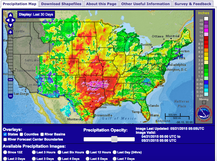 Texas Flooding Map | Business Ideas 2013