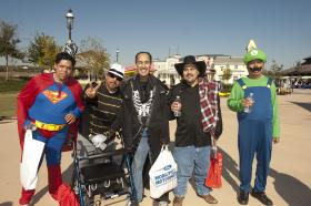 Costumes at AccessAbility fest 2011