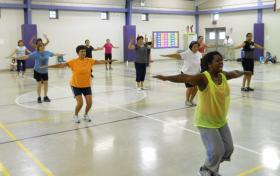 Zumba at SAISD