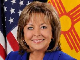 Official portrait of Republican New Mexico Governor Susana Martinez, the first female Hispanic governor in the United States.