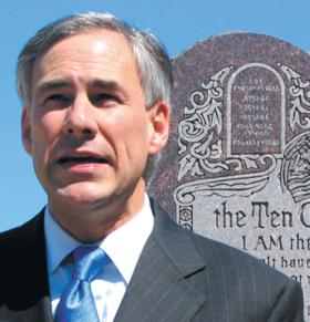 Attorney General Greg Abbott announces his big plans in San Antonio on Sunday.