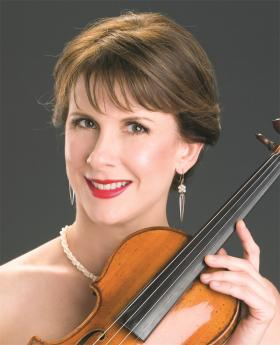 Violinist Stephanie Sant'Ambrogio, founder and artistic director of Cactus Pear Music Festival